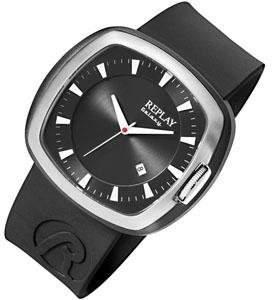 Replay Men's Quartz Watch RH5403NH RH5403NH with Leather Strap
