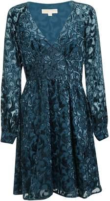 Michael Kors Embroidered Dress