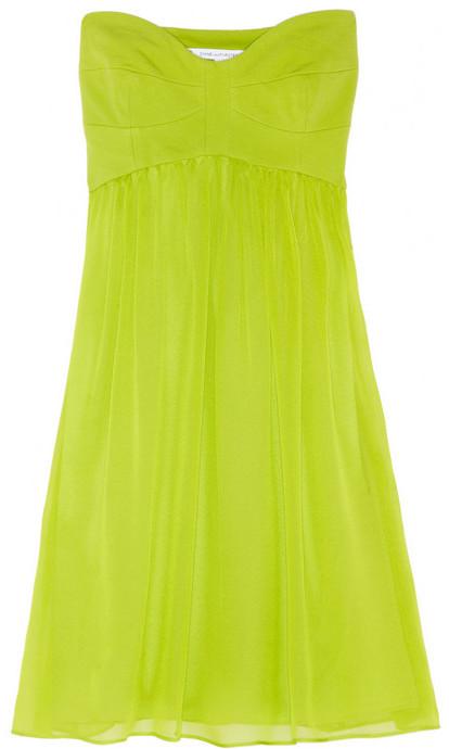 Diane von Furstenberg Asti silk-chiffon and ponte mini dress