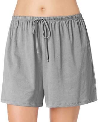 Jockey Plus Size Pajamas: Solid Pajama Shorts