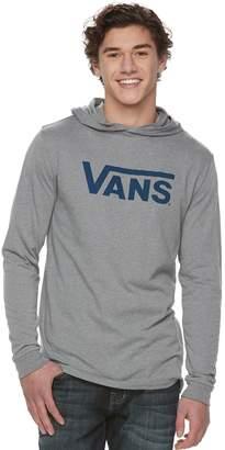 Vans Men's Checkered Print Hooded Tee