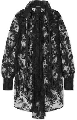 Ann Demeulemeester Lace Shirt - Black