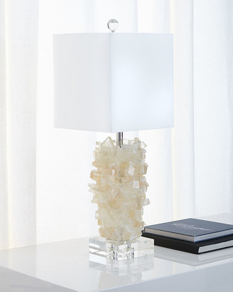 John-Richard Collection John Richard Collection Tiered Calcite Table Lamp