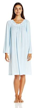 Shadowline Women's Petals 40 Inch Long Sleeve Waltz Gown