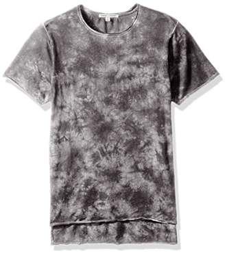 Threads 4 Thought Men's Tie Dye Raw Edge Sustainable Scoop Tee