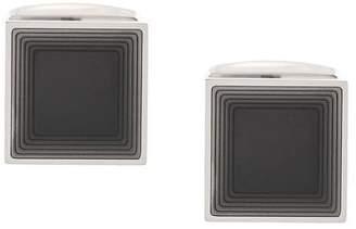 HUGO BOSS square design cufflinks