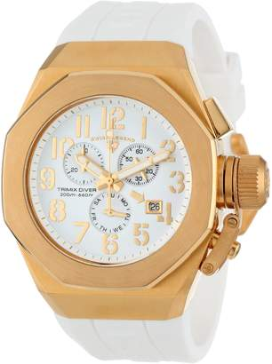 Swiss Legend Men's 10542-YG-02-GA Trimix Diver Chronograph Dial Silicone Watch