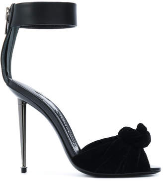 Tom Ford bow detail sandals