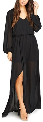 Women's Show Me Your Mumu Jocelyn Blouson Gown $198 thestylecure.com