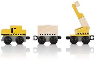Plan Toys WOODEN CRANE TRAIN