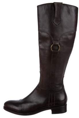 AGL Leather Knee-High Boots