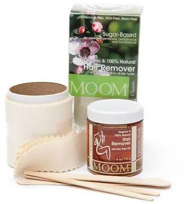 Moom Organic Hair Removal Kit Tea Tree