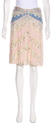 Missoni Woven Knee-Length Skirt