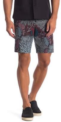 Perry Ellis Coral Print Shorts