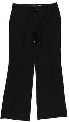 Zucca Mid-Rise Wide-Leg Pants