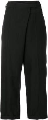Ivan Grundahl wrap cropped trousers