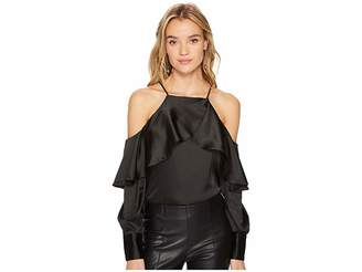Bishop + Young Mia Cold Shoulder Blouse Women's Blouse