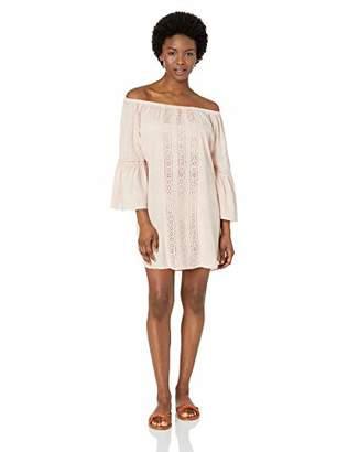 Splendid Women's Off Shoulder Mini Dress