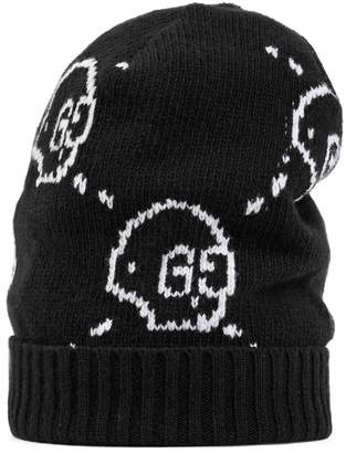 GucciGhost wool hat $335 thestylecure.com