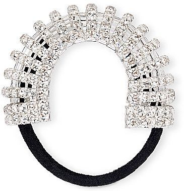 JCPenney Clear Crystal & Rhinestone Ponytail Holder