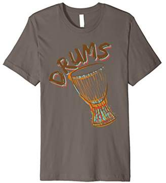 Drums Birthday Gift T-Shirt Percussion Instruments player