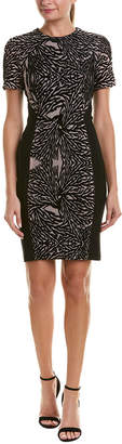 Yigal Azrouel Burnout Sheath Dress