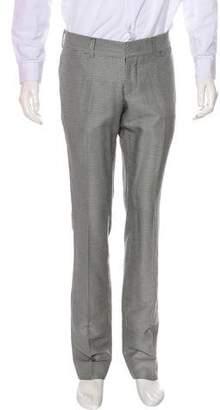 Gucci Wool & Silk Dress Pants