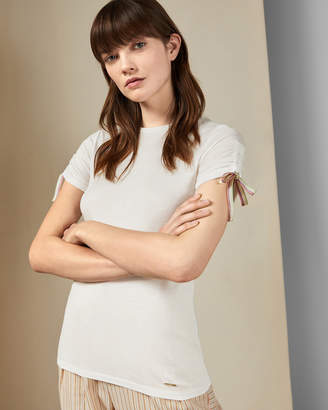 Ted Baker CANEIRO Ruched sleeve T-shirt