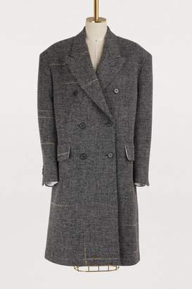Calvin Klein Oversized virgin wool coat