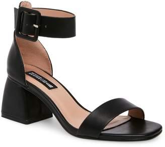 Design Lab Dorit Textured Ankle-Strap Sandals