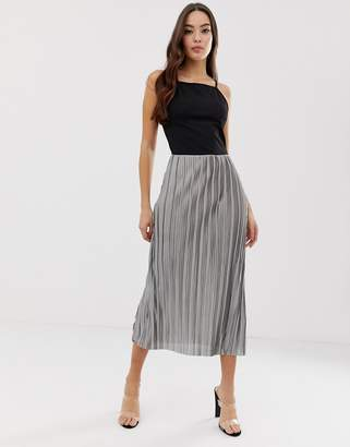 AX Paris pleated midi dress