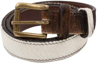 Preen Brown Leather Belts