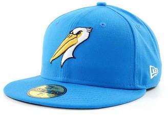 New Era Myrtle Beach Pelicans MiLB 59FIFTY Cap