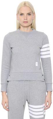 Intarsia Cotton Jersey Sweatshirt $510 thestylecure.com