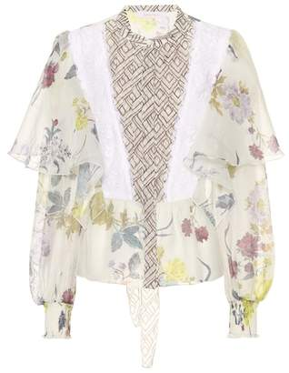See by Chloe Floral-printed blouse