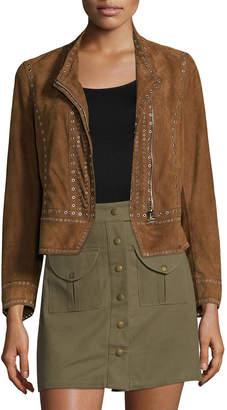 Derek Lam 10 Crosby Studded Leather Jacket