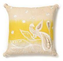 Victoria Bay Pillow, Yellow