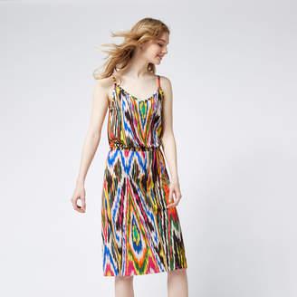 Warehouse Rainbow Ikat Cami Dress