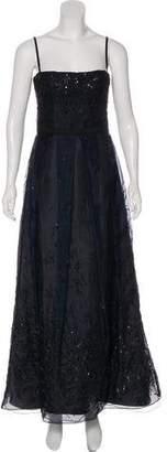 J. Mendel Beaded Sleeveless Gown
