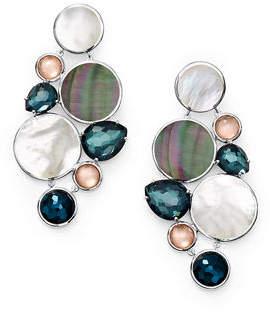 Ippolita Wonderland Multi-Stone Chandelier Earrings in Moroccan Dust