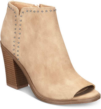 Esprit Natalee Memory Foam Block-Heel Ankle Booties Women Shoes