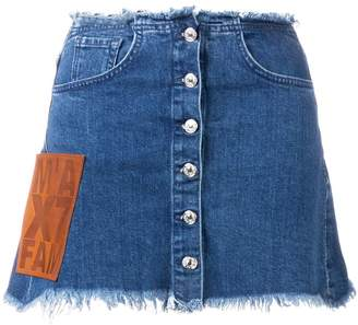Marques Almeida Marques'Almeida Marques'Almeida X 7 For All Mankind denim skirt