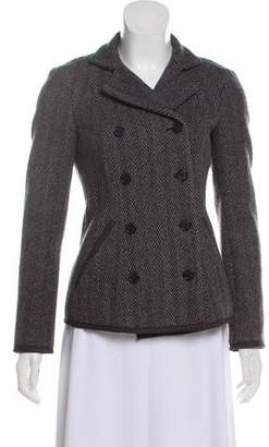 Narciso Rodriguez Wool Double-Breasted Coat