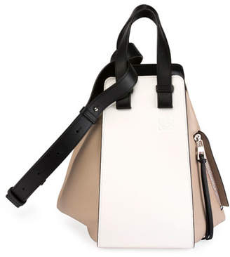 Loewe Hammock Small Colorblock Leather Satchel Bag