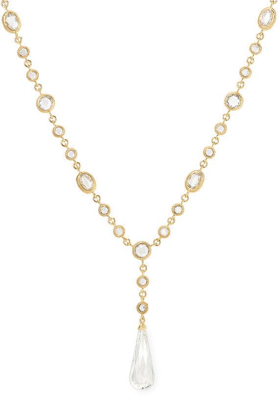 Nadri 'Brio Drop' Crystal Necklace