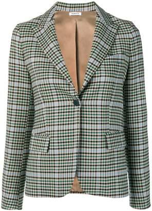 P.A.R.O.S.H. checkered blazer