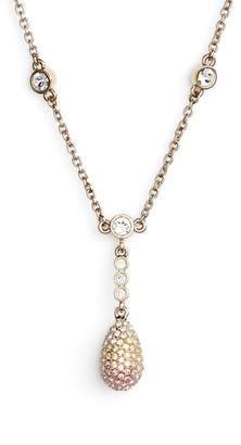 Nina Pave Pendant Necklace