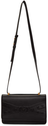Versace Black Embossed Medusa Tribute Bag