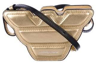 Emporio Armani Metallic Leather Mini Bag w/ Tags