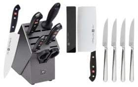 Zwilling J.A. Henckels Tradition Seven-Piece Knife Block Set with Bonus